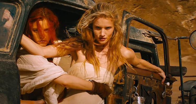 「マッドマックス 怒りのデス・ロード」の撮影風景。CGばかりかと思いきや・・・