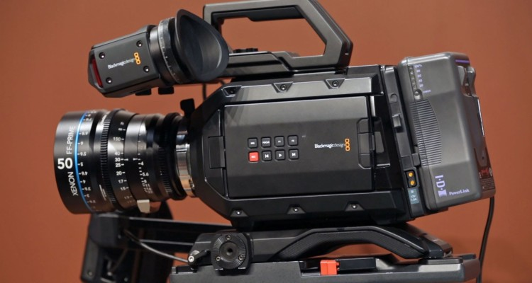 Blackmagic URSA Mini 4.6K と Blackmagic Micro Cinema Camera が出荷開始