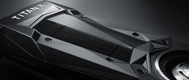 NVIDIAからPascalアーキテクチャ最上位の「TITAN X」が登場