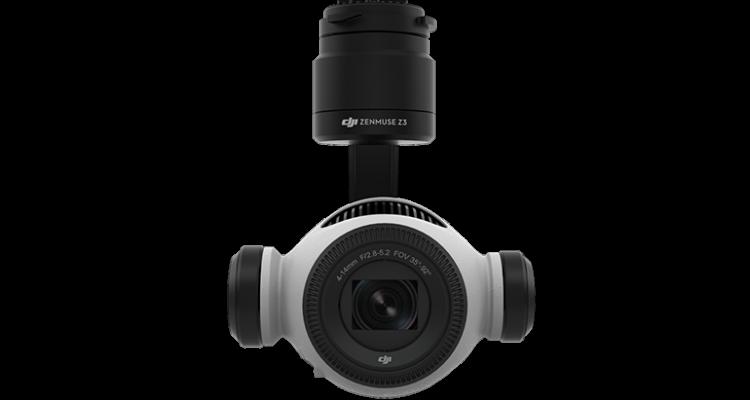 DJIから最大7倍ズームのドローン用一体型カメラ「Zenmuse Z3」が登場