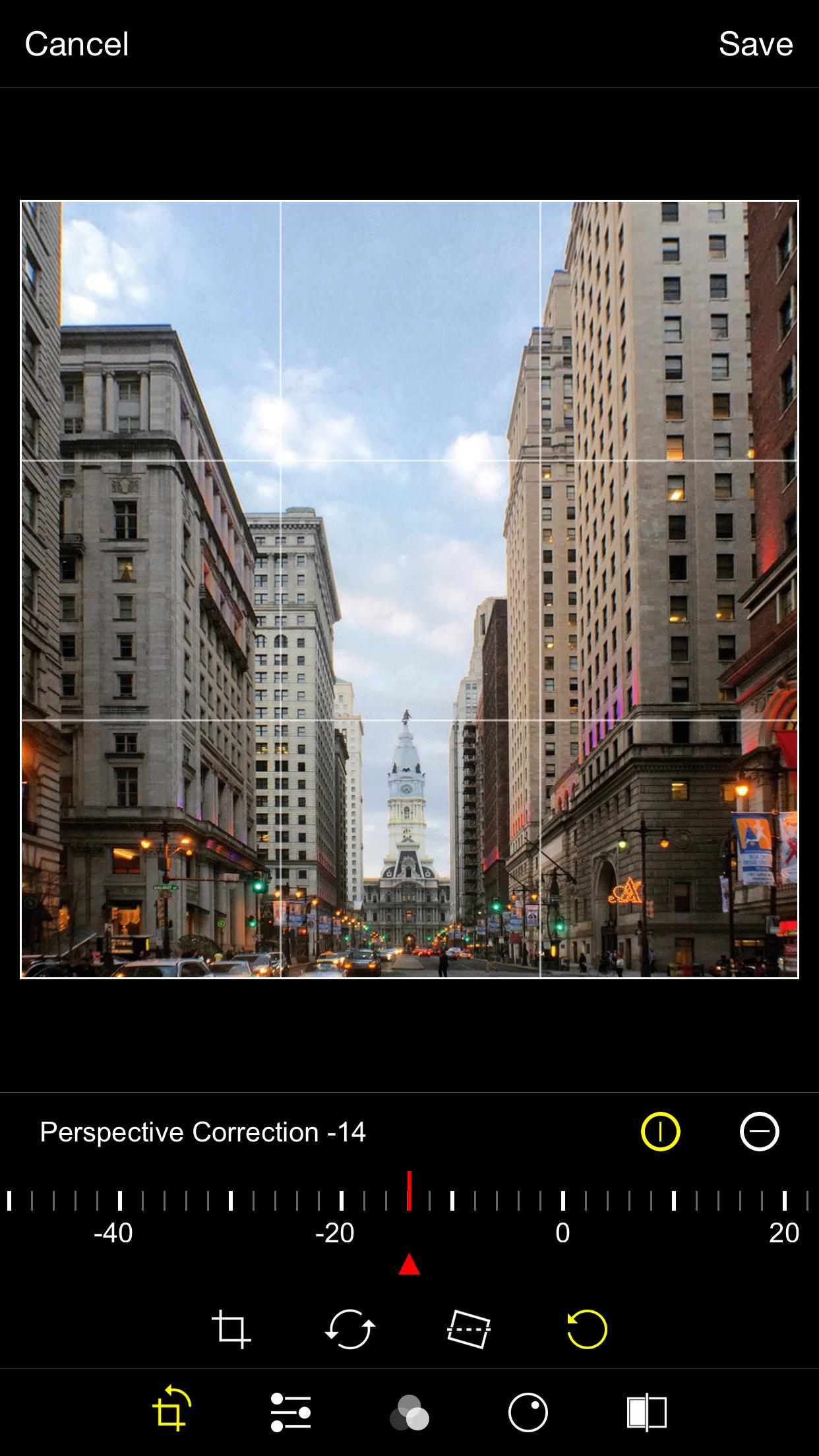 ProCam 3 Screenshot 4 English 5.5%22 Screen