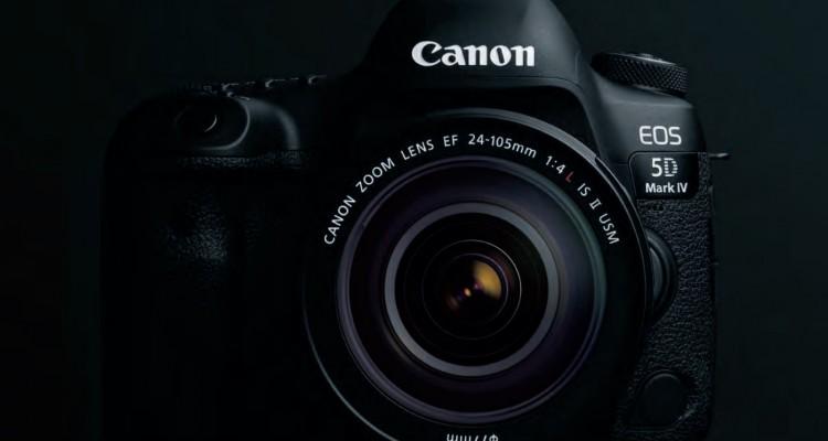 Canonがフルサイズデジタル一眼レフの新機種「EOS 5D Mark IV」を発表