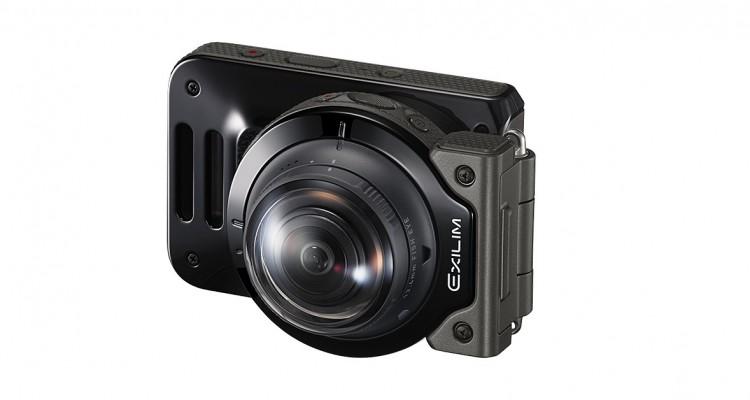 CASIOから185°魚眼カメラ「EX-FR200」が登場