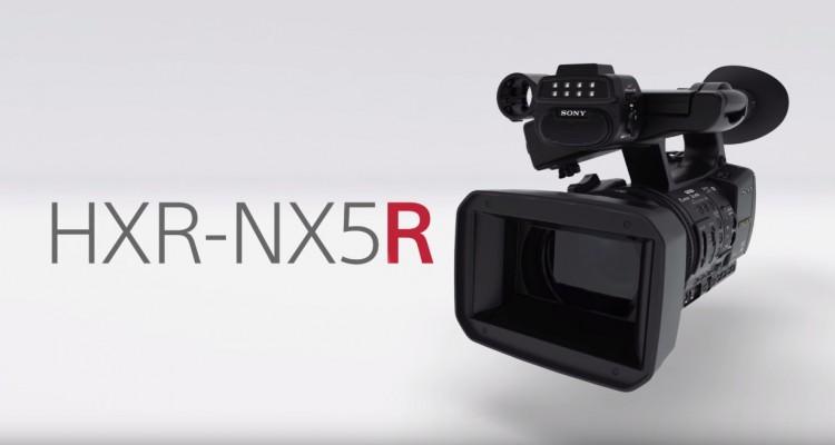 ソニーのハンドヘルドカメラ「NXCAM」シリーズがリニューアル!「HXR-NX5R」