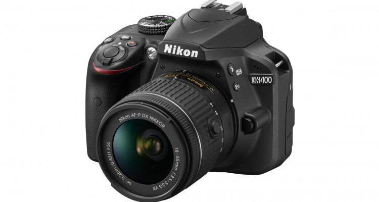 ニコンが一眼レフの新製品「D3400」を海外で発表