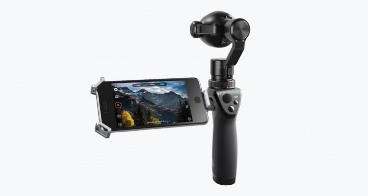 DJI、手持ち型ジンバルカメラにズームレンズを一体化した「Osmo+」を発表