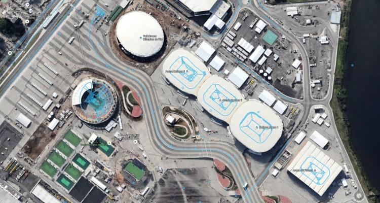 Googleがリオ・オリンピック会場のストリートビューを作成していました