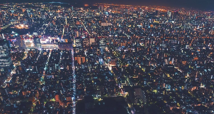 夜のキラキラ輝く東京をタイムラプスで。