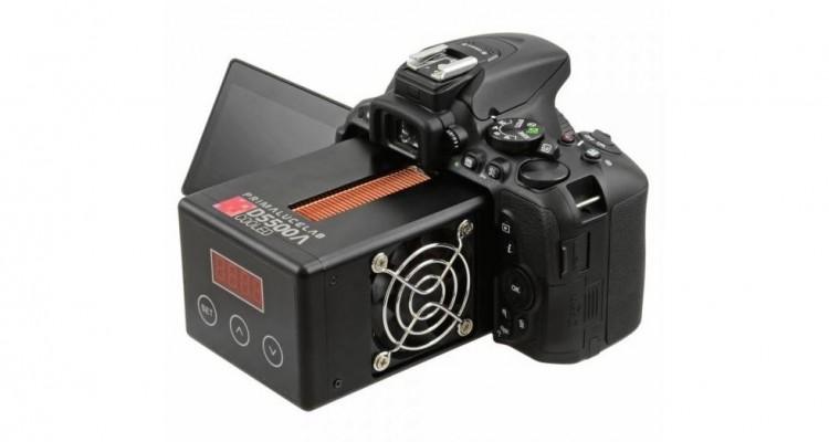 天体撮影に最適化されたNikon D5500のカスタマイズ機「D5500a Cooled」の紹介