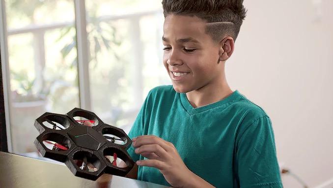 組み立てて動かし、遊びながら学ぶ!モジュラードローンがKickstarterに登場。