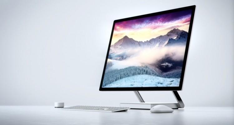 斬新なデバイス!Microsoftがクリエイター向けの一体型PC「Surface Studio」を発表