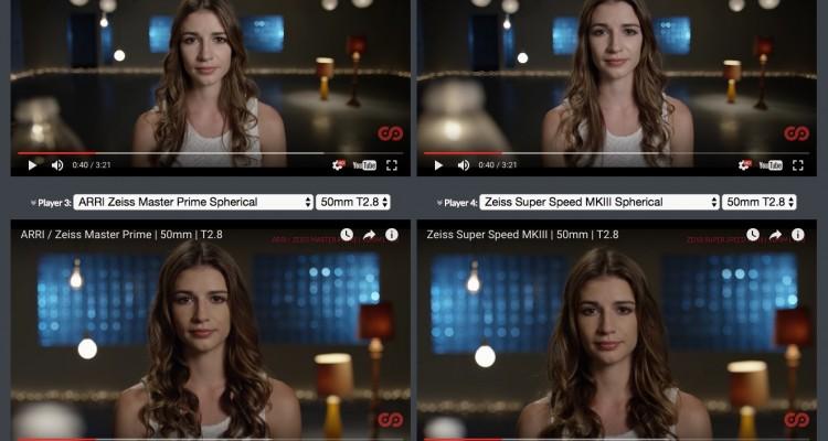 多数のシネマレンズを映像で比較できるサイト「VINTAGE CINEMA LENS LIBRARY」