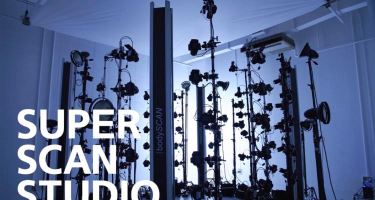 ハイエンドなシステムを備えた、3Dスキャンスタジオ「SSS(スーパースキャンスタジオ)」がオープン!