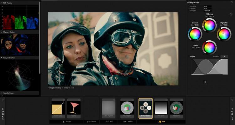 AEなどで、カラーグレーディングを行うプラグイン「Magic Bullet Looks」の解説動画!