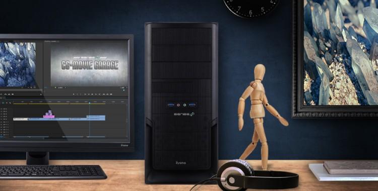 CGWORLDとELSAとSENSE∞がコラボ!最先端のハイスペック映像クリエイター用PCが10万円台で登場!