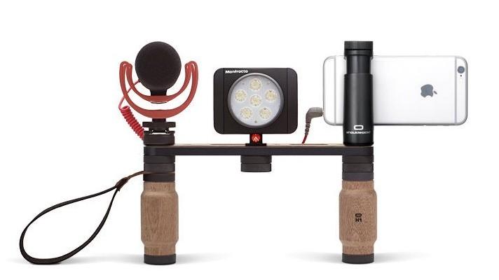 Shoulderpod製のスマートフォン撮影用リグシステムが日本発売