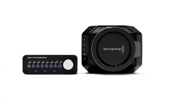 「Blackmagic Micro Cinema Camera 」のリモートコントローラーが資金調達中!