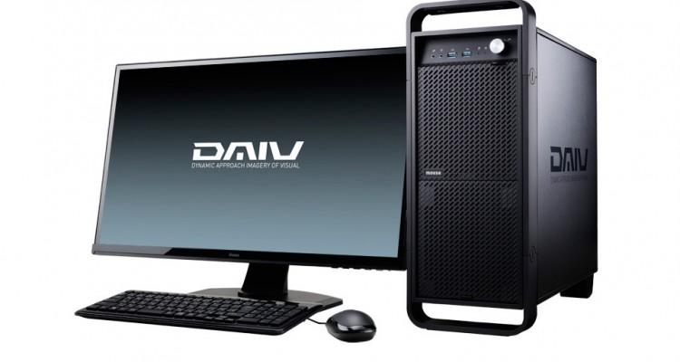 最新CPU搭載!マウスコンピューターからクリエイター向けPCの新機種「DAIV-DGZ510シリーズ」が登場