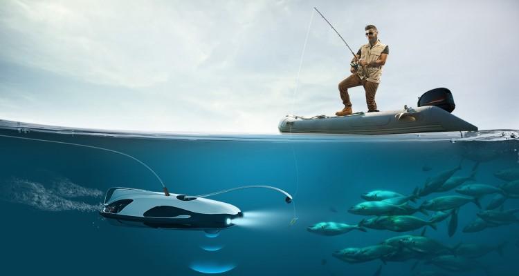 4Kカメラを搭載した水中ドローン「PowerRay」。釣り・撮影・調査に使える、新たなアイテム!