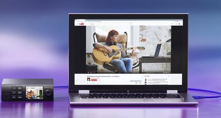 繋ぐだけでウェブカメラにできる!Blackmagic Designがネット配信用の映像変換器「Web Presenter」を発売!