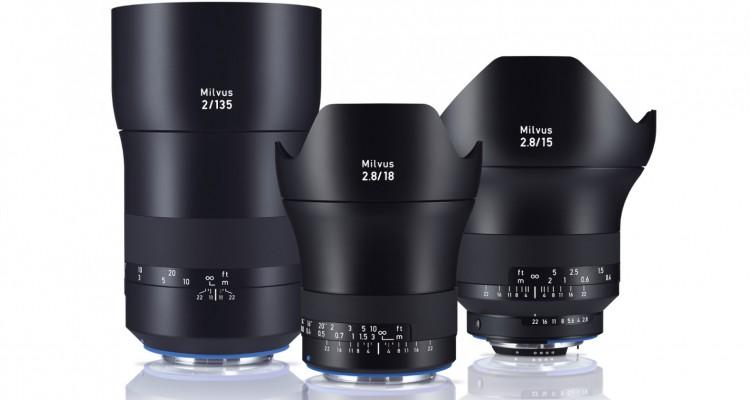圧倒的な存在感!デジタル一眼に特化したレンズ「ZEISS Milvus」シリーズの15mm,18mm,135mmが日本発売!