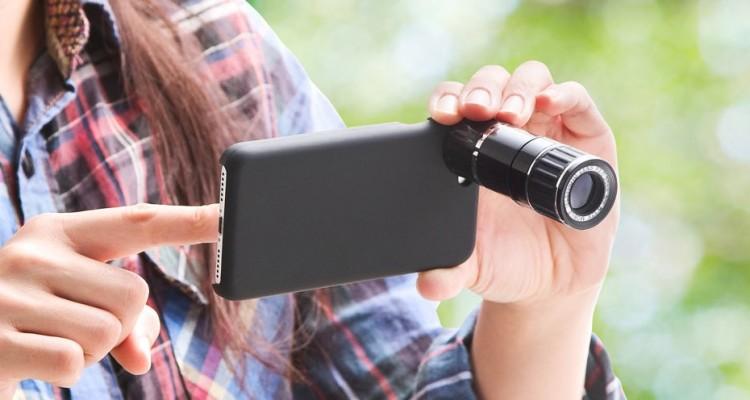 驚きの光学12倍!専用ケース・三脚まで付いたサンワのiPhone7用レンズ「400-CAM060」!