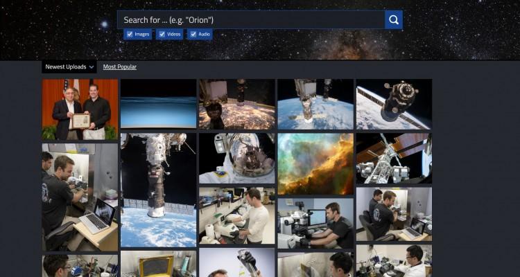 NASAが大量の写真・映像・音声データを閲覧、ダウンロードできる「NASA Image and Video Library」を公開!