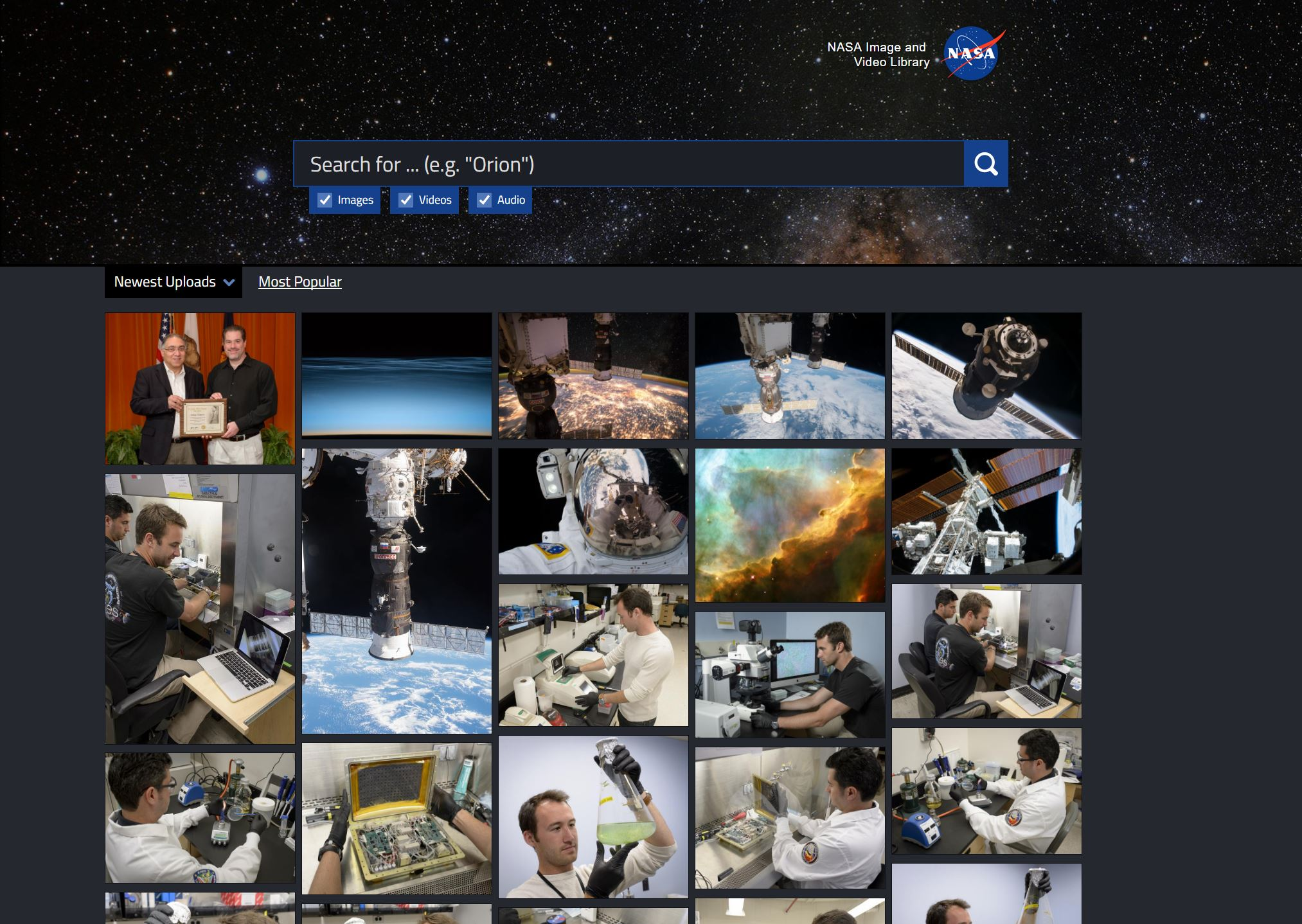NASA Image and Video Library 01