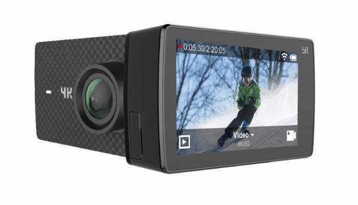 世界初、4K/60pで撮影できるアクションカメラ「YI 4K+ Action Camera」が3月28日に発売!