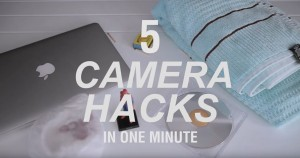 5 Camera HACKS in ONE MINUTE 01