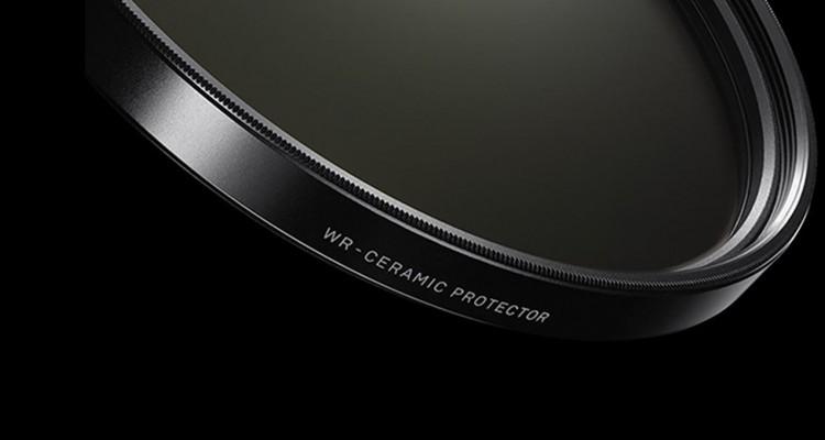 従来の製品より10倍も強い!SIGMAの新しいレンズプロテクター「WR CERAMIC PROTECTOR」!
