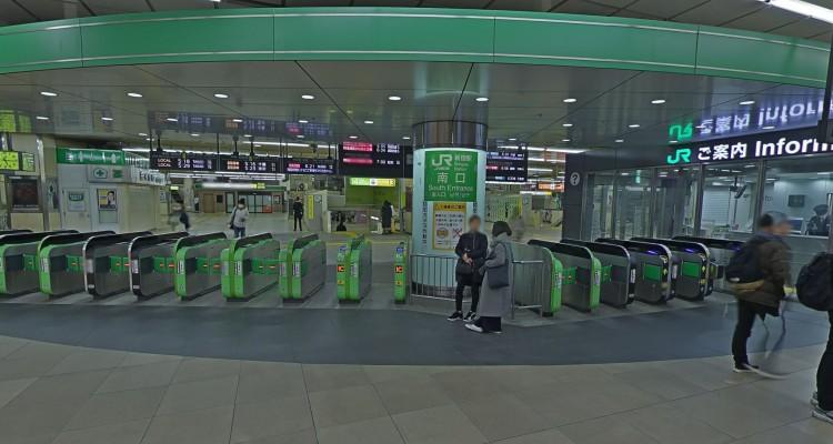 もう、迷わない。Googleストリートビューで新宿駅や東京駅内部が見られるように!