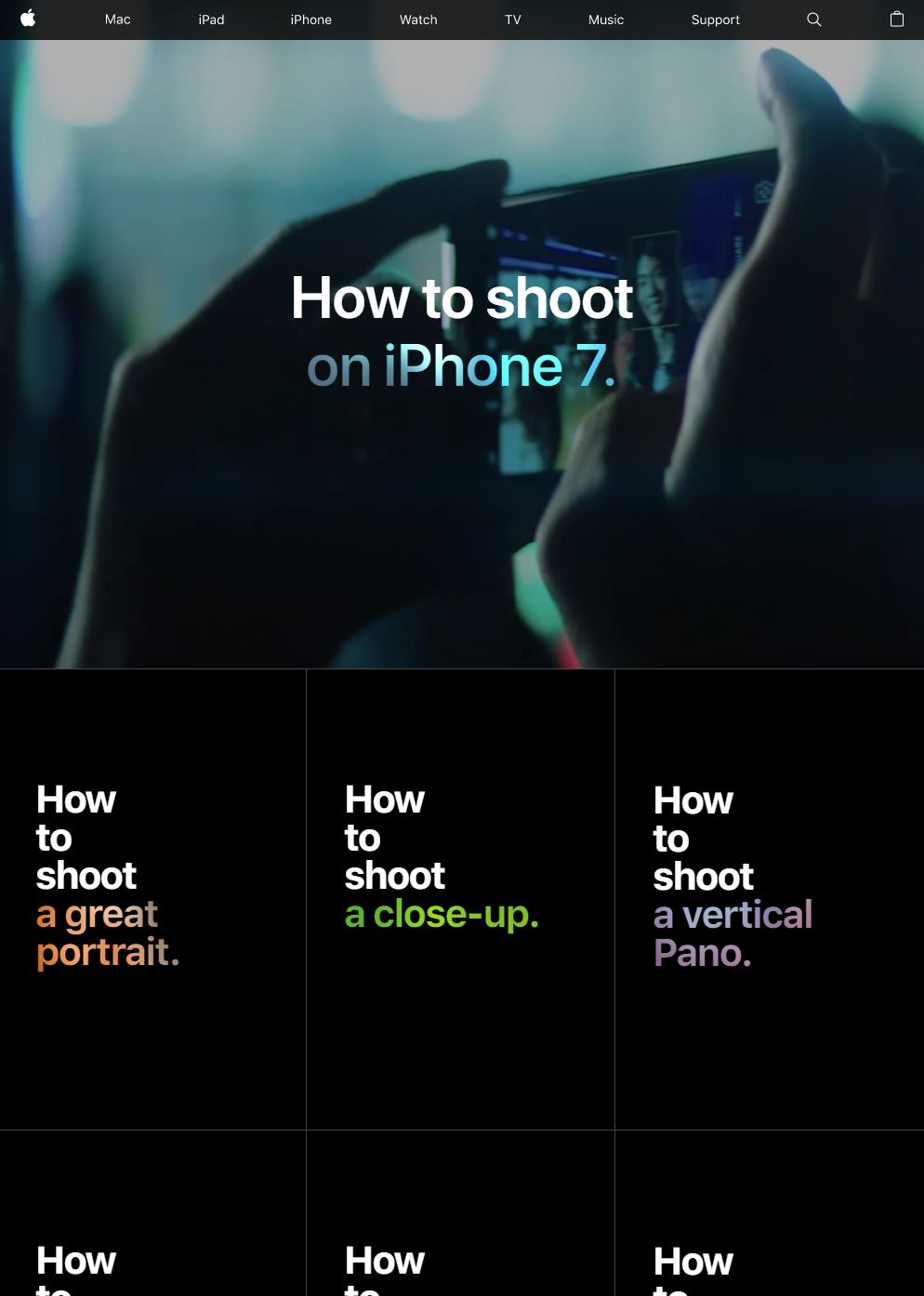 How To Shoot on iPhone 7 01