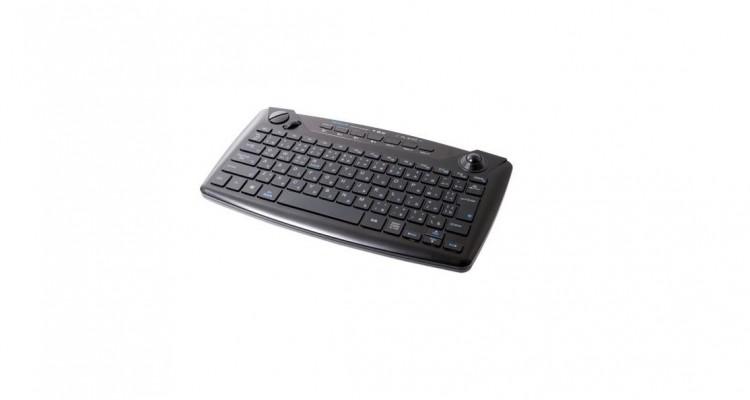 ひとまとめにして便利!株式会社ミヨシからトラックボール搭載Bluetoothキーボード「TK-BT02」が登場!
