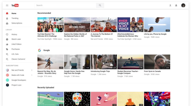 youtube new design 02