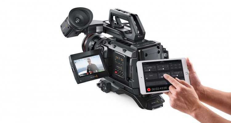 Blackmagic DesignがURSA Mini Pro用のリモートコントロールiPadアプリ「Blackmagic Camera Control」を公開!