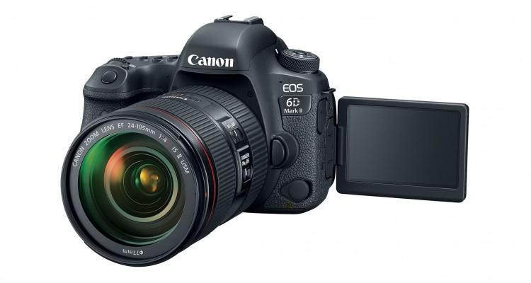 フルサイズ&可動式タッチモニター!Canonが一眼レフの新モデル「EOS 6D Mark II」を発表!