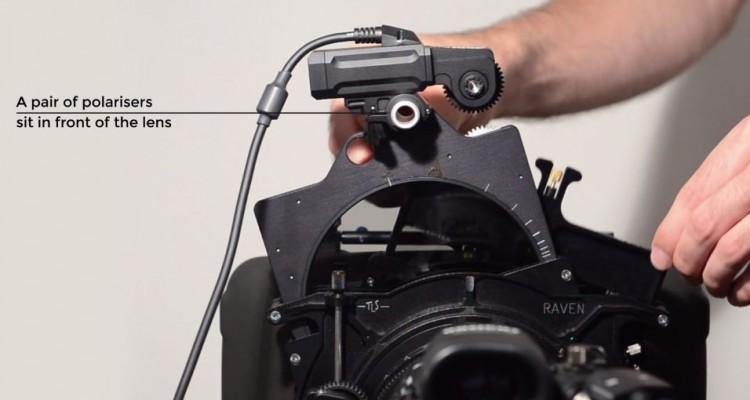 アイリス操作と連動して可変NDフィルターが露出を調整するシステム「Cinefade」!