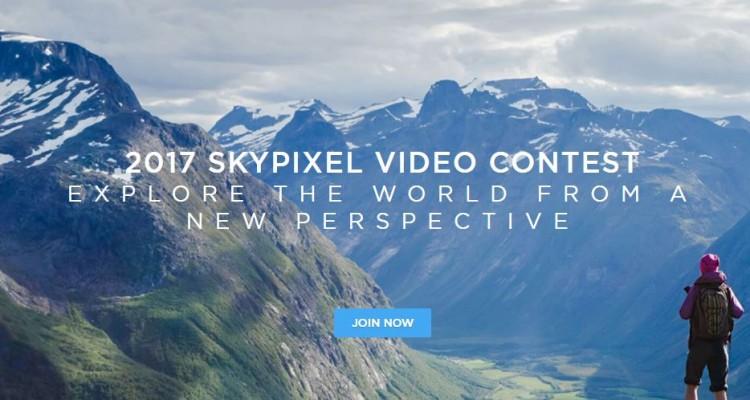 入賞者にはドローンを始め豪華賞品が!「SkyPixel空撮映像コンテスト」締切は8月2日!