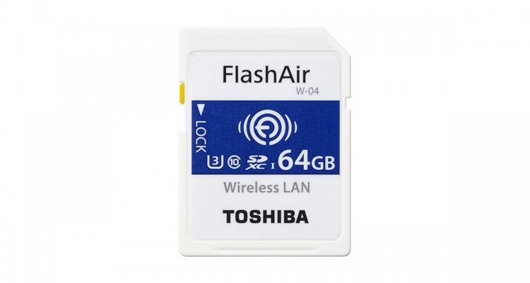 簡単にシェア&クラウドにアップ!TOSHIBAの無線LANを備えたSDカード「FlashAir」新モデルが登場!