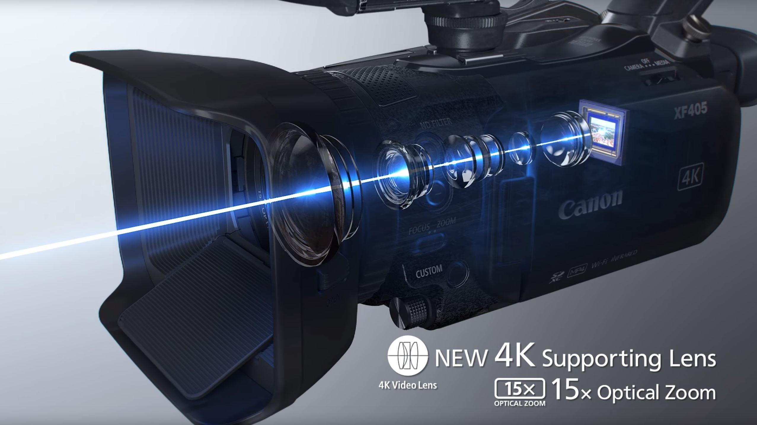 canon XF405/XF400 05