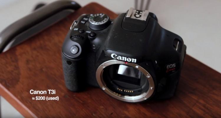 安価な機材でも高品質で撮影する方法。