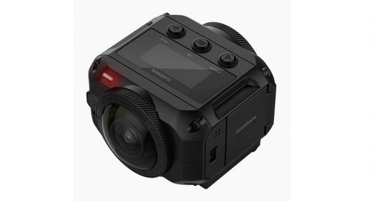 5.7K・頑丈な設計!防水360°全天球カメラ「VIRB 360」!