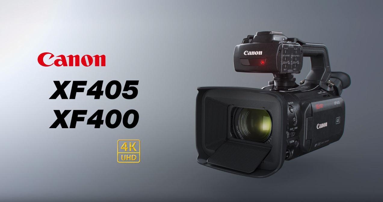canon XF405/XF400 01