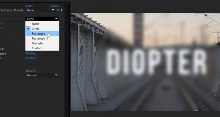 ブラーを自在に操り、様々な効果を加えるAfter Effectsプラグイン「Diopter」!