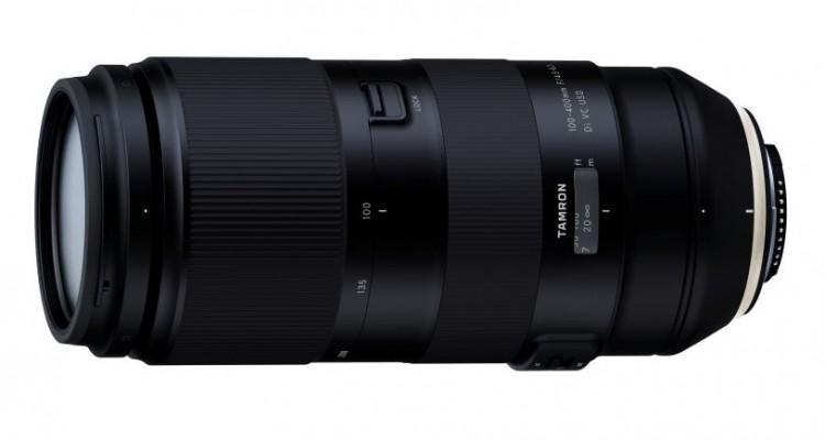 タムロンが超望遠ズームレンズ「100-400mm F/4.5-6.3 Di VC USD」を発表!