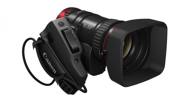 4K対応&電動!CanonがEFシネマレンズの望遠版「CN-E70-200mm T4.4 L IS KAS S」を発表!