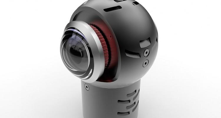 4K/RAW撮影ができる!IndieCamから小型360度カメラ「naked EYE」が登場!