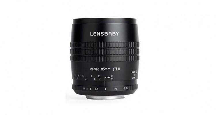 Lensbabyから85mmのソフトレンズ「Velvet 85」が登場!