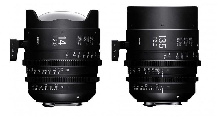 焦点距離の両端を追加!SIGMAからシネマレンズ「FF High Speed Prime Line」の14mm / 135mm、2機種が登場!